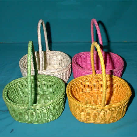 Mua Craft rattan handed basket