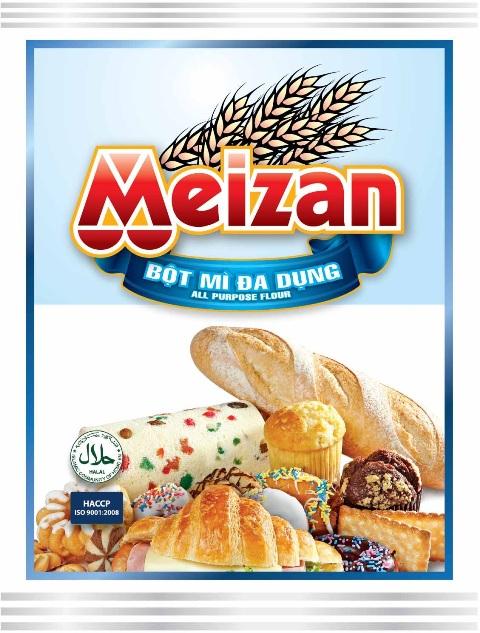 Mua Bột Bánh Pizza - Bột mì đa dụng Meizan