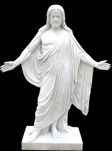 Mua Catholic Jesus white marble sculpture