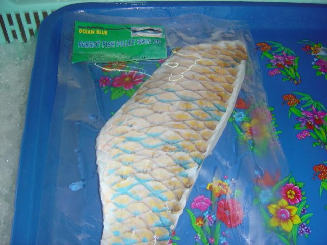 Mua Parrot Fish Fillet Skinon, Bonless