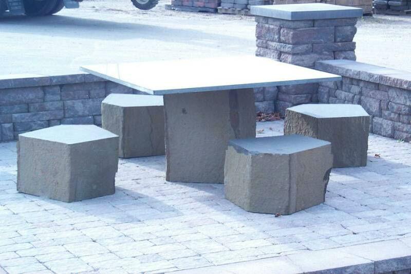 Mua Table — Basalt, Granite