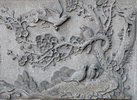 Mua Carving Granite