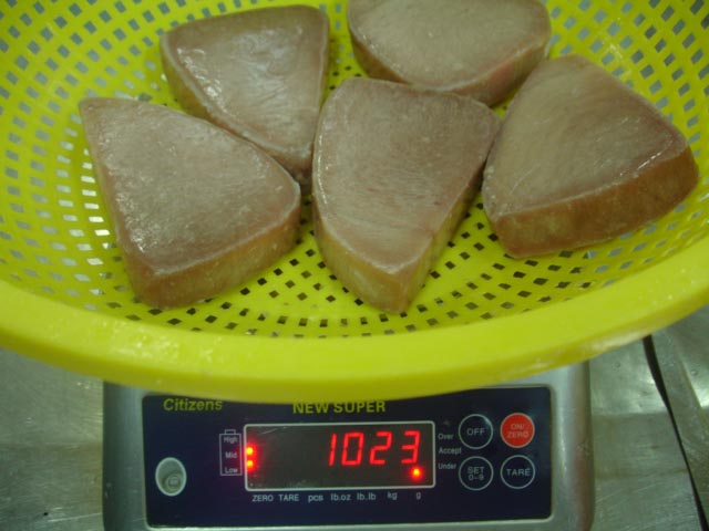 Mua Tuna steak natural