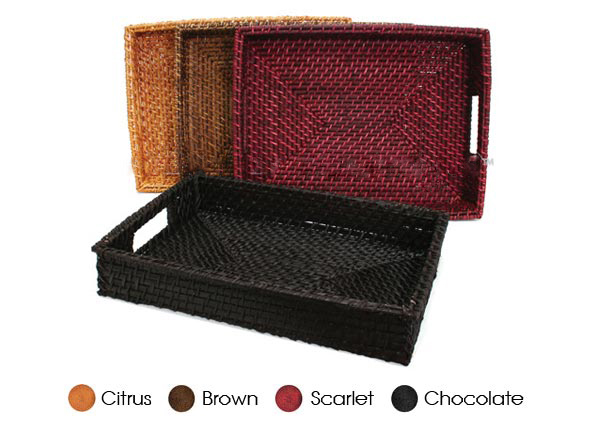 Mua Rectangle Rattan Tray 100% handmade