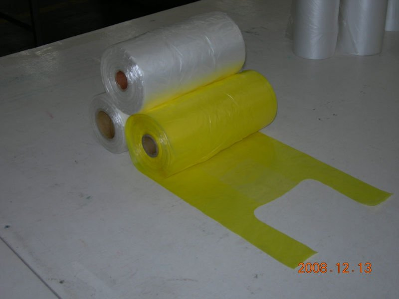 Mua HDPE T-shirt Bags On Roll for Supper Market