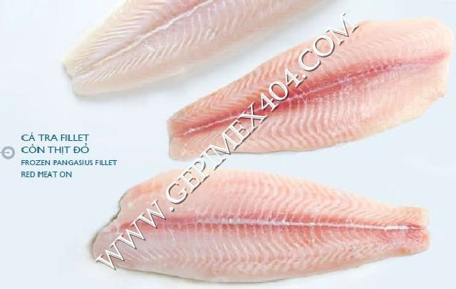 Frozen Pangasius-Fillet Red Meat