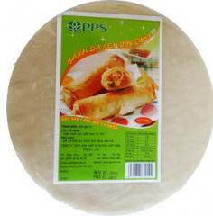 Round rice paper