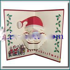 Candle - 3D Pop up Christmas Card