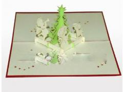 Baby prayer - 3D Pop up Christmas Card