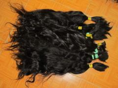 Bulk cheap virgin human hair( 100% virgin human