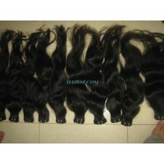"Machine weft hair- 10""(25cm) best"