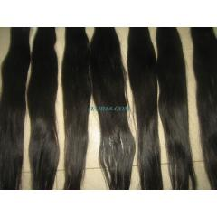 "Single Wavy Machine Weft Hair 10""(25cm)"