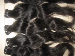 "SINGLE WAVY MACHINE WEFT/14""(35CM)/100%"