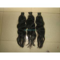 "SINGLE Wavy machine weft/16""(40CM)/hair"