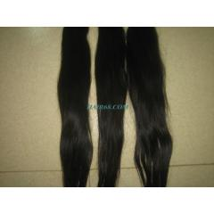 Double wavy machine weft hair,high quality asian