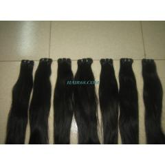 "Double wavy weft hair 28"" (70cm),good"