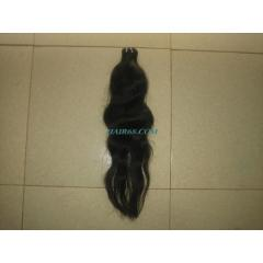 "Single wavy weft hair/18""/good quality"