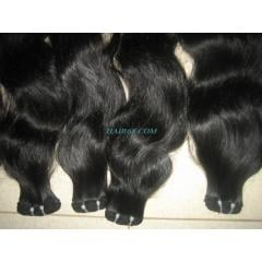 "Double wavy weft hair 30""(75cm)- the best"