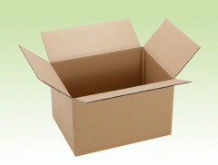 Carton box and duplex paper