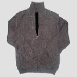 Knitted overcoat garments