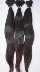 Best quality 100% human hair Vietnam hair has cuticle intact & same direction from root to tip