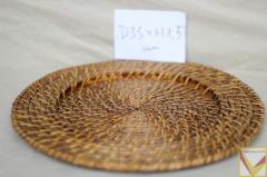 Bamboo rattan placemats