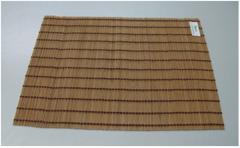 Handmade rectangular bamboo placemat VDG13