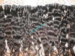 Вьетнамский человеческих волос хвостик волосы частей Горячие продажи природного 5А класс Вьетнамский человеческие волосы