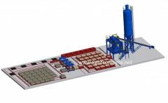 FOAM CONCRETE BLOCK PRODUCTION PLANT