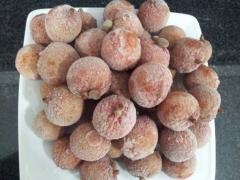 Frozen lychee whole