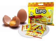 LIPO cream egg cookies