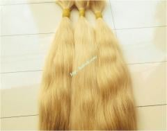 Blonde Hair Extensions 10 inch Cheap - Wavy hair
