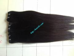 Weave Hair Extensions 10 inch Best - Double Black