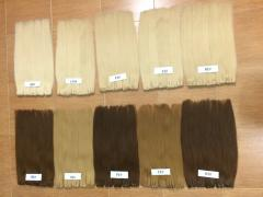High quality human hair.
