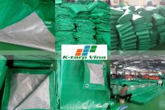 190 GSM TARPAULIN - WHITE COLOR – BALE PACKING –