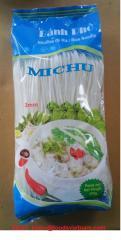 Rice vermicelli, rice noodles, bun kho, pho kho