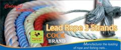 3 Strands PP Rope with Lead Lines  -  UV