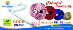 Color Twisted Rope Covering with UV protection