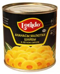 Canned Pineapple in light/syrup