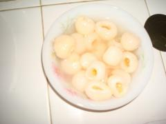 Whole IQF lychee