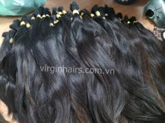 Fino fio de cabelo humano