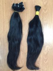 STRAIGHT HAIR BULK AND WEFT HAIR