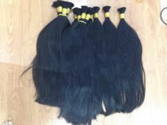 STRAIGHT HAIR BULK HAIR WITH HIGH QUALITY