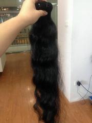 Cabelo ondulado natural cambojano