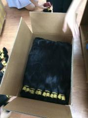Natural Black 100% unprocessed human hair