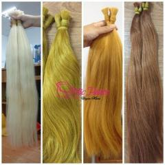 Natural hair color all color all length