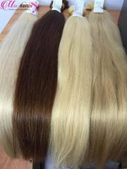 Colored Remy Human Hair from Vietnam