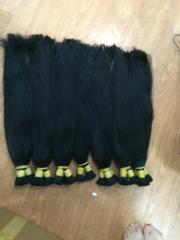 Straight remy human hair from Vietnam
