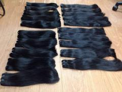 STRAIGHT 100% HUMAN HAIR EXTENSION BIG COMPANY