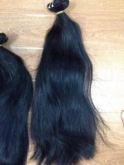 DOUBLE DRAWN STRAIGHT WEFT HAIR NATURAL HAIR